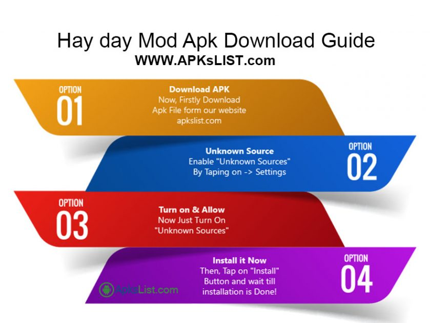 Hay day mod apk download guide